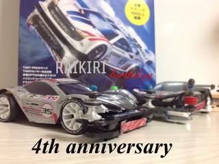 RAIKIRI 4th anniversary